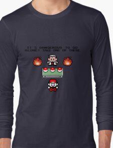 Zelda Pokemon Long Sleeve T-Shirt