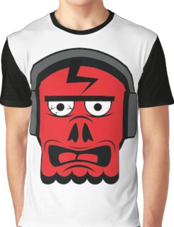 Angry skull Graphic T-Shirt