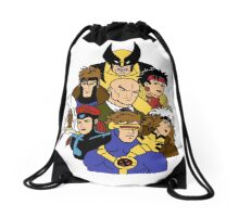 Mutant Family Bag Drawstring Bag