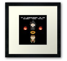 Zelda Of The Rings Framed Print