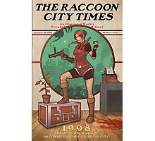 The Raccoon City Times 1998 Photographic Print