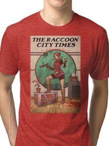 The Raccoon City Times 1998 Tri-blend T-Shirt