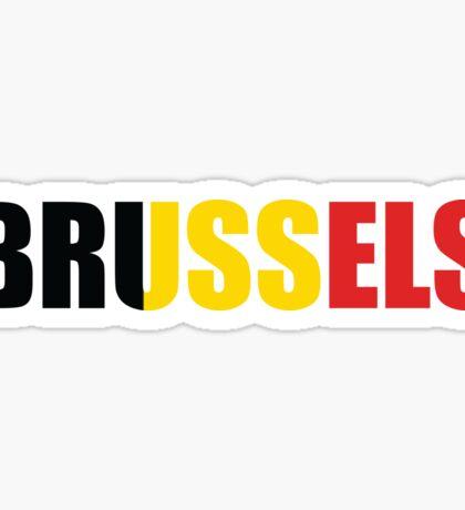 Brussels Sticker