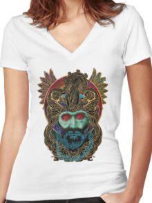 mastodon Women's Fitted V-Neck T-Shirt