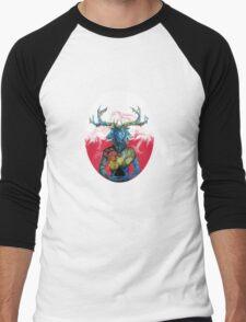 mastodon Men's Baseball ¾ T-Shirt