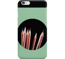 The fellowship of the pencils.  iPhone Case/Skin