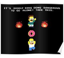 Zelda Simpsons Poster