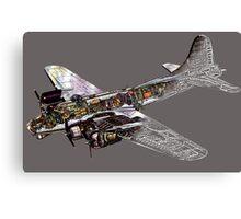 Boeing B17 Canvas Print