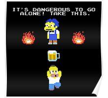 Zelda Simpson Poster
