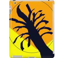 Yellow Ochre Sun Tree iPad Case/Skin