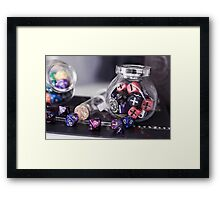 Dice Lover Framed Print