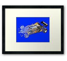 Renault F1 Framed Print