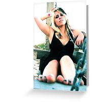 Toes Greeting Card