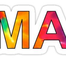 OMAM sticker Sticker