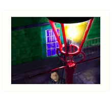Let There Be Gaslight Art Print