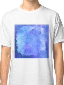 Purple Blue Watercolor Paper  Classic T-Shirt