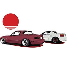 JDM Sunset Photographic Print