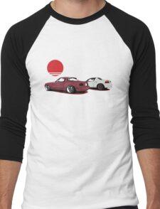 JDM Sunset Men's Baseball ¾ T-Shirt