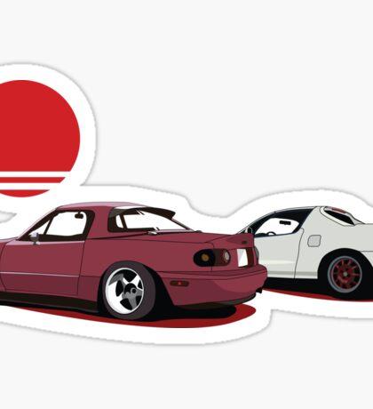 JDM Sunset Sticker