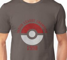 indigo league champion 98 Unisex T-Shirt