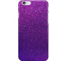 Purple Glitter Paper iPhone Case/Skin