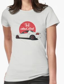 Honda Del Sol Womens Fitted T-Shirt