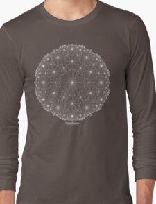 Cluster Blossoms [white design] Long Sleeve T-Shirt