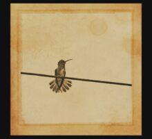 Hummingbird of Brazil One Piece - Short Sleeve