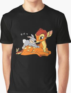 Bambi and Thumper Graphic T-Shirt