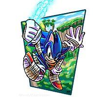 Boom! Sonic Photographic Print
