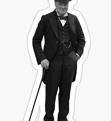 Winston Churchill Sticker
