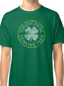 Irish Ginger Pride Drinking Team Classic T-Shirt