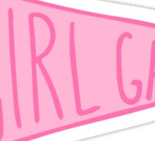 Girl Gang Pennant Sticker