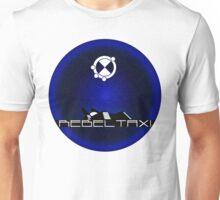 RebelTaxi Black and Blue Poster Unisex T-Shirt