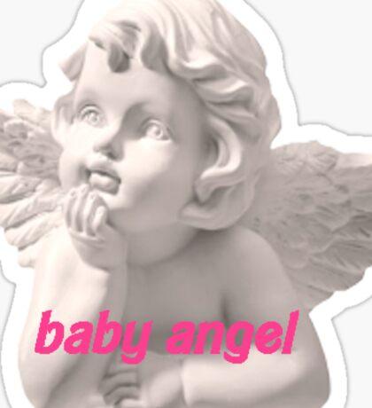 Bby Angel Sticker