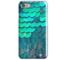 Funky, Shiny Fish Scales  iPhone Case/Skin
