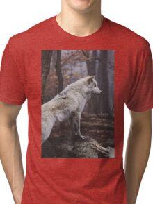 Wolf Neighborhood  Tri-blend T-Shirt