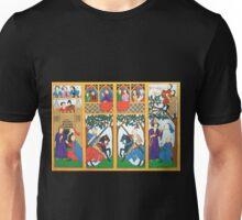 Medieval Scene Unisex T-Shirt