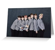 Formal Suits Greeting Card