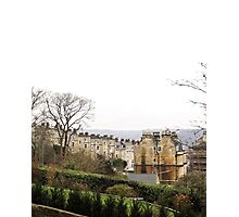 View over Bath from Cavendish Crescent Photographic Print