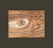 Wood Grain Knothole Unisex T-Shirt