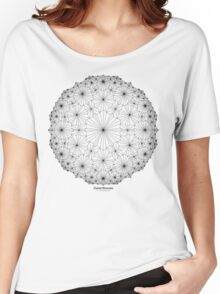 Cluster Blossoms Women's Relaxed Fit T-Shirt