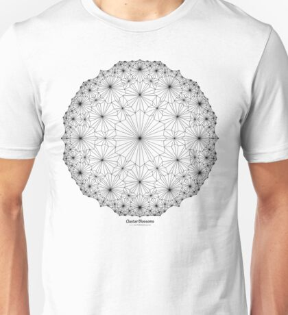 Cluster Blossoms Unisex T-Shirt