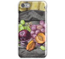 Let's get oldschool.. with grapes. iPhone Case/Skin