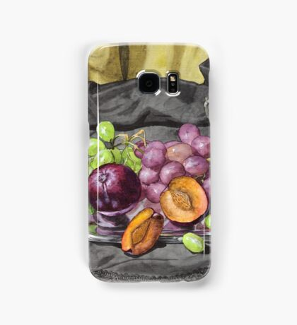 Let's get oldschool.. with grapes. Samsung Galaxy Case/Skin