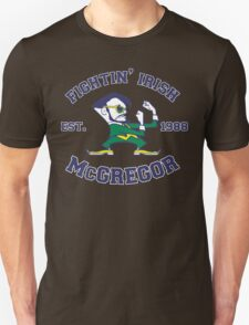 Fightin' Irish McGregor (Suited and Booted) Unisex T-Shirt