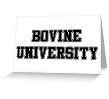 Bovine University – Ralph Wiggum, The Simpsons Greeting Card