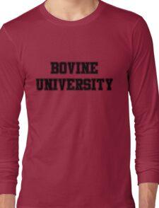 Bovine University – Ralph Wiggum, The Simpsons Long Sleeve T-Shirt