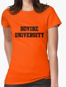 Bovine University – Ralph Wiggum, The Simpsons Womens Fitted T-Shirt