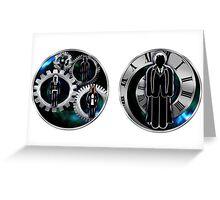 Doctor Who - 10th Doctor - David Tennant/Companions Mugs Greeting Card
